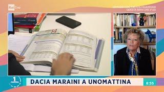 Dacia Maraini: la scuola e il nostro futuro - Unomattina 08/04/2021