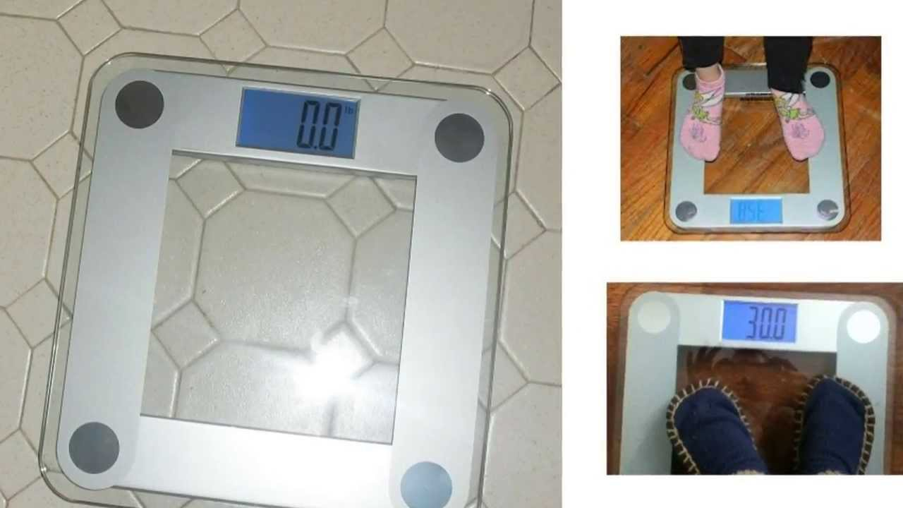 review - eatsmart precision digital bathroom scale - youtube