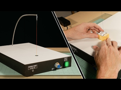 How to build a hot wire foam cutter power supply