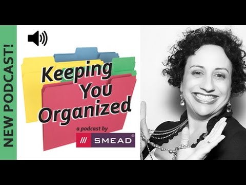 Three Essentials For Getting Organized - Keeping You Organized Podcast 050