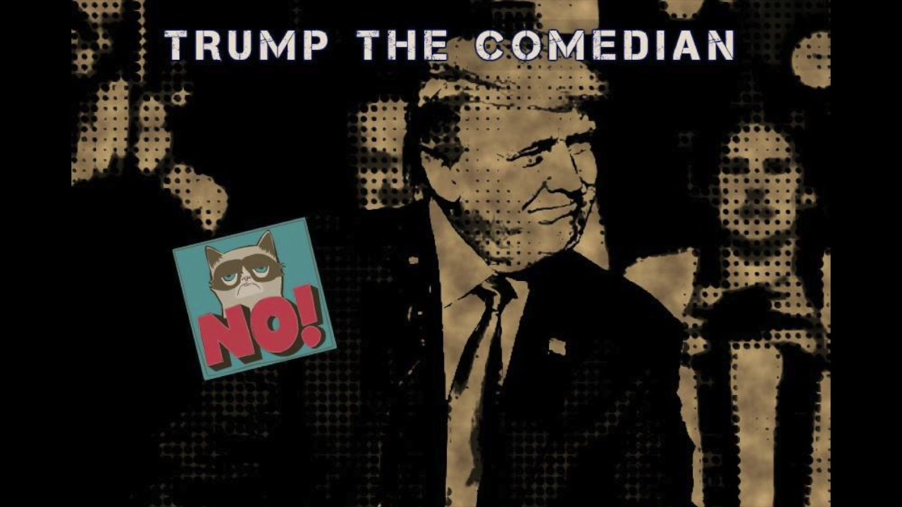 Comic Sense Sweden - Trump the comedian