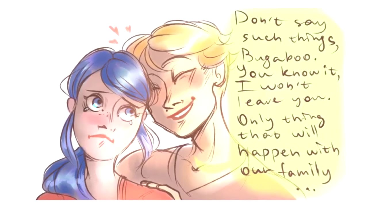 is Marinette pregnant ! Adrien and marinette's kids - miraculous ladybug  comic