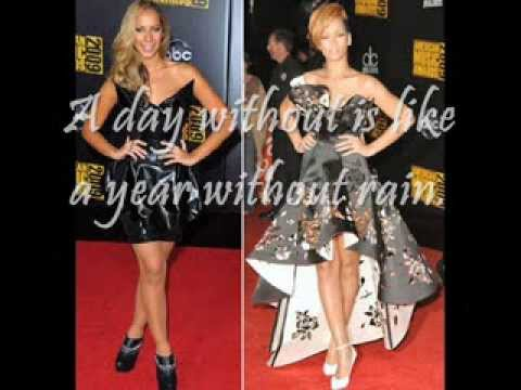 Leona Lewis ft. Rihanna - A year without rain (lyrics)
