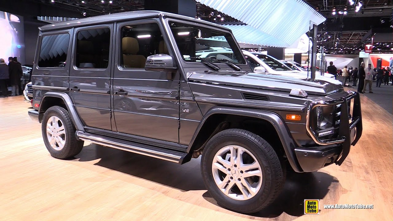2015 mercedes benz g class g550 exterior and interior walkaround 2015 detroit auto show - Mercedes G Interior 2015