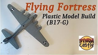 Make the Flying Fortress Plastic Model