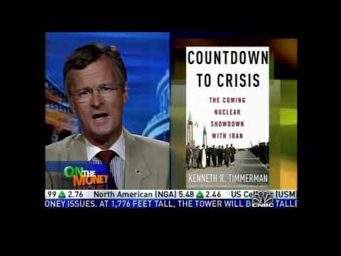 """Prof. Gerald Steinberg, CNBC's """"On The Money"""" discussing Iran's Nuclear Program, 2..."""