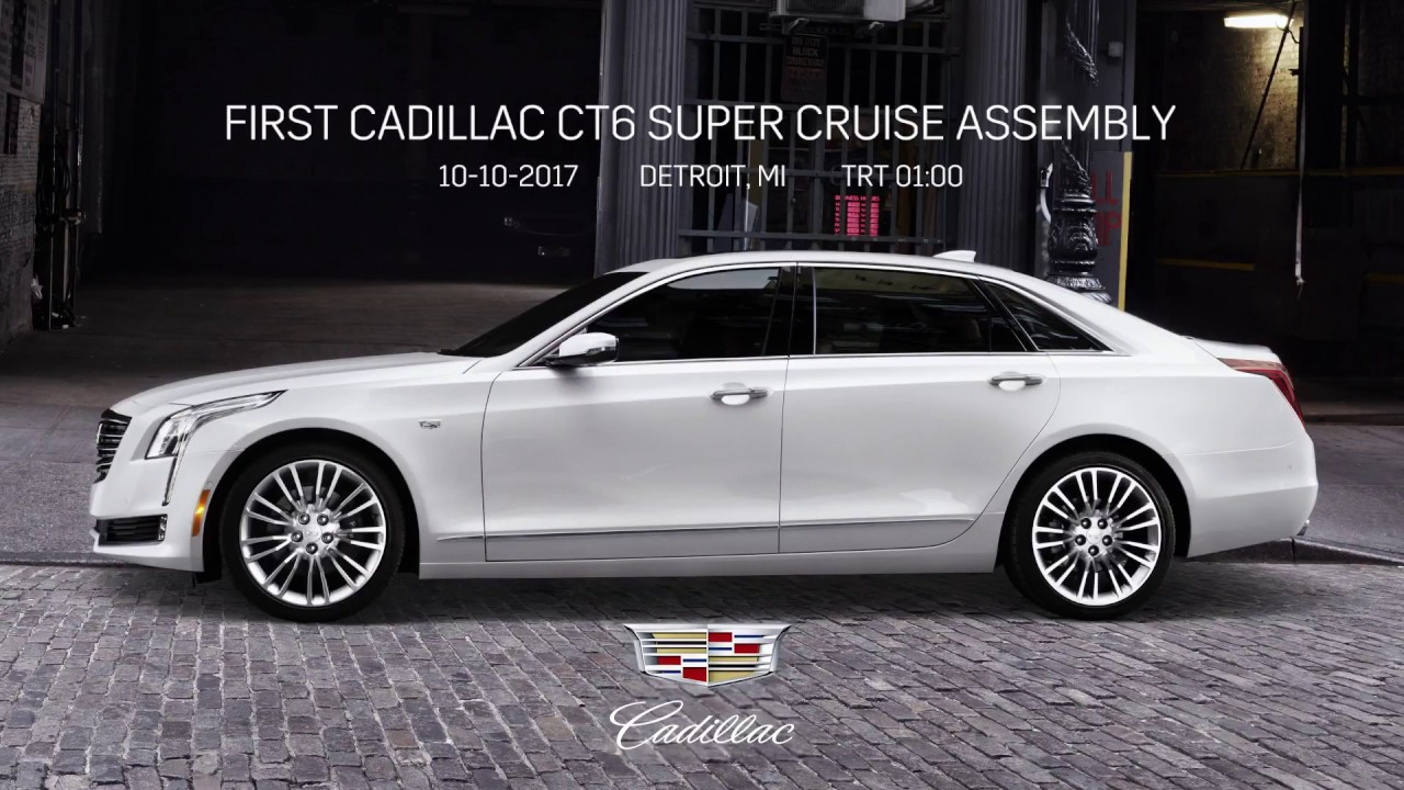 2018 cadillac super cruise. simple 2018 2018 cadillac ct6 super cruise assembly line with cadillac super cruise