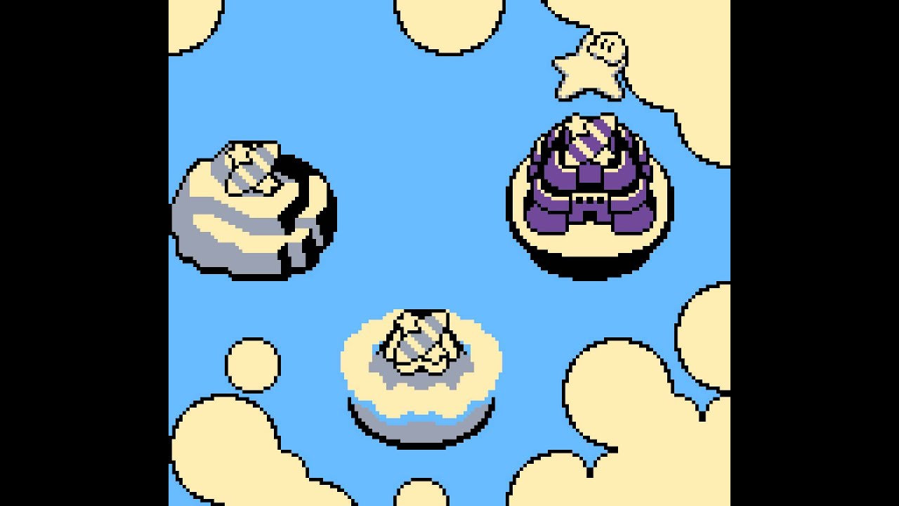 Kirby's Dream Land 2 OST (Game Boy) - Track 02/31 - World Map on kirby's dreamland map, super mario world 2 map, lovecraft h.p. lovecraft world map,