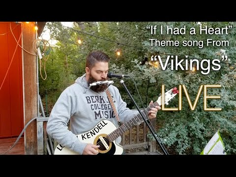 If I Had A Heart Vikings Theme Song  West Coast Tour performance  Logan Kendell