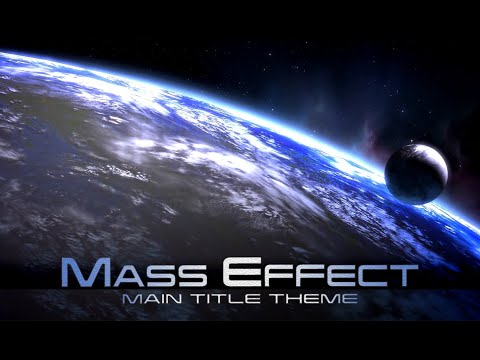Mass Effect -  Main Title Screen (1 Hour of Music)