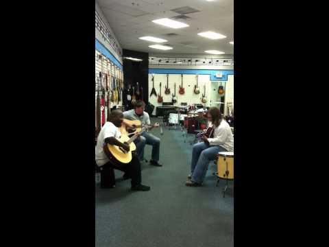 Jam Session inside Jerry's Music in Jasper Mall (Ray Charle