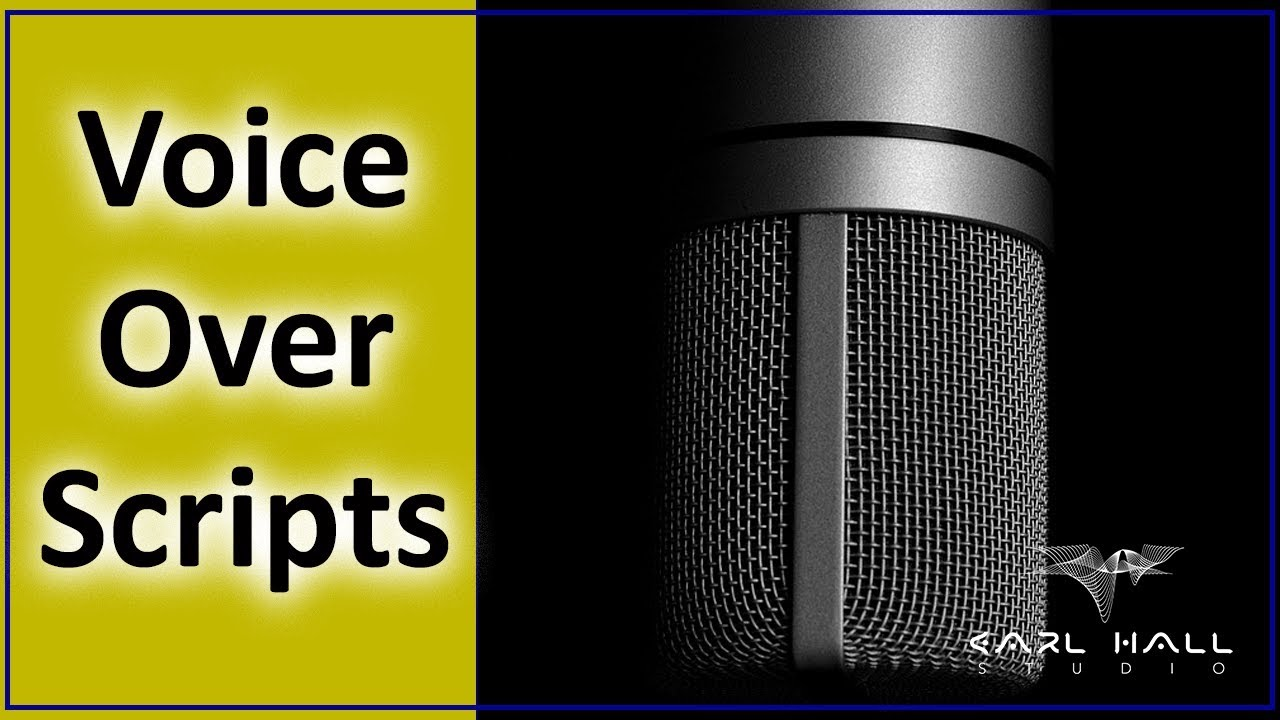 Voice Over Scripts