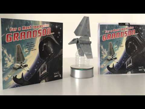 BUILD YOUR OWN STAR WARS IMPERIAL SHUTTLE CARD - BY HALLMARK UK