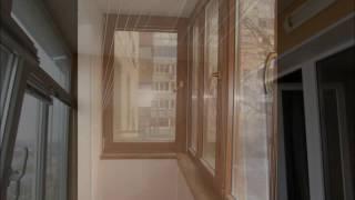 видео Сушилка для белья на балкон: потолочная, настенная, лиана и другие