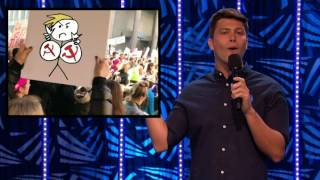 Comedian Colin Jost Gives An Epic Protest Tutorial