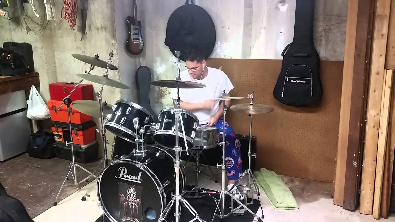 Playing the CB 700 Drum Set - YouTube