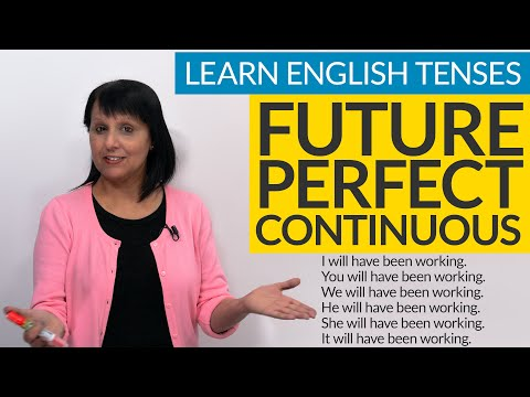 Learn English Tenses: FUTURE PERFECT CONTINUOUS