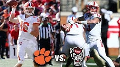 Clemson vs. NC State 2019 Football Preview