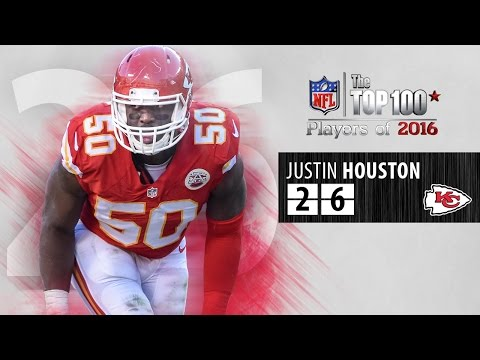 #26: Justin Houston (LB, Chiefs) | Top 100 NFL Players of 2016
