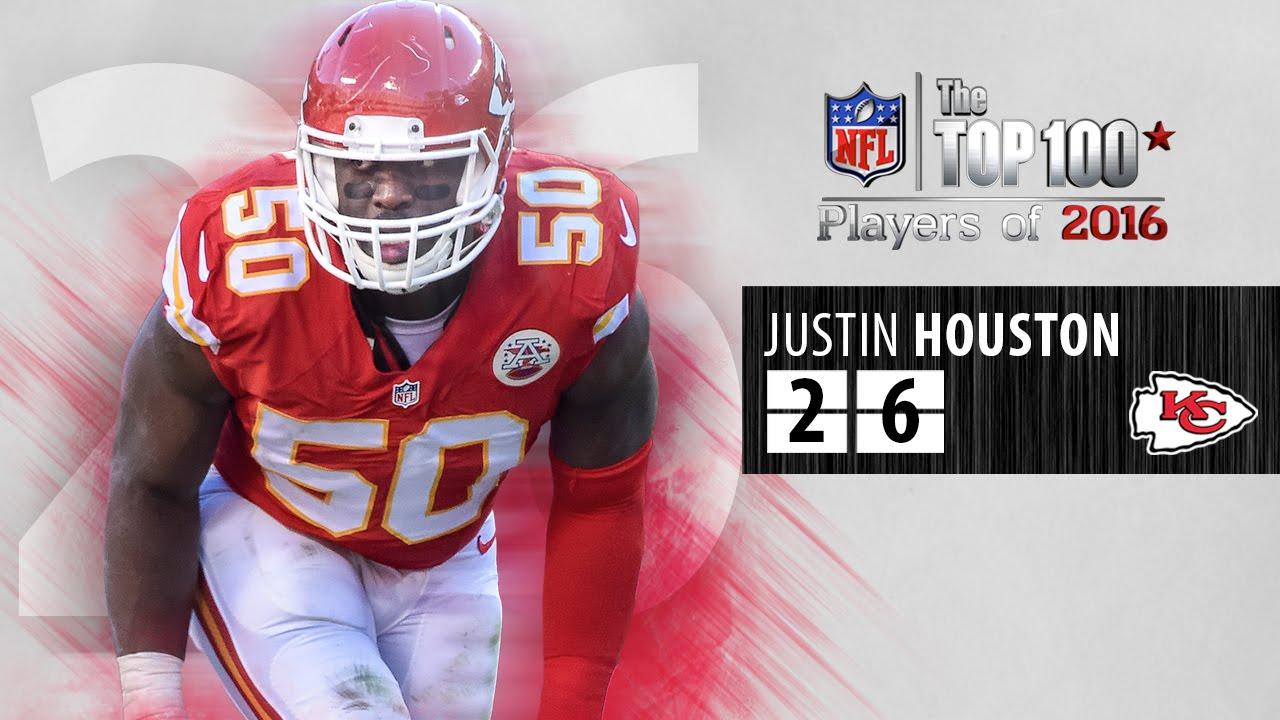 26 Justin Houston LB Chiefs