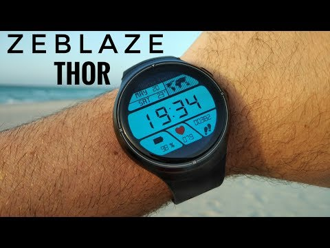 "Zeblaze Thor 3G Smartwatch ⌚REVIEW - 1.4"" Amoled Screen, 16GB ROM, 3G, Camera"