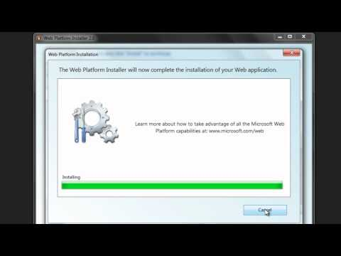 How to install WordPress in Windows with WEB Platform Installer (WEB PI)