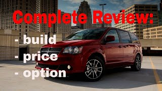 2018 Dodge Grand Caravan SE, SE Plus and SXT - Build & Price Review - Features, Specs, Options