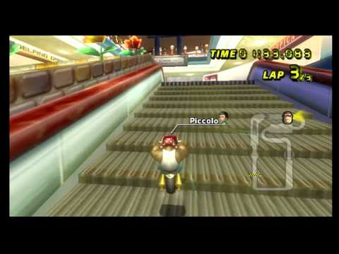 "Mario Kart Wii Time Trial: Coconut Mall (2'01""714)"