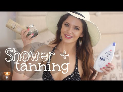 Body Care Routine & Sunless Tanning For Pale Folk! | Melanie Murphy