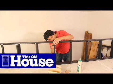 How to build a rolling library ladder this old house youtube how to build a rolling library ladder this old house solutioingenieria