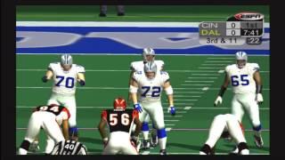 ESPN NFL 2K5 Football Week 5 Bengals @ Cowboys