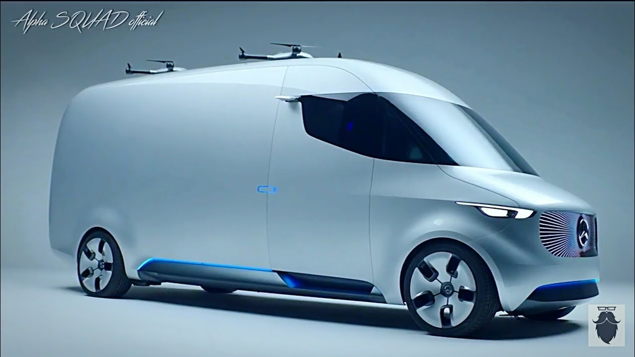 Mercedes Future Vehicle Future Luxury Van With Self Driving And