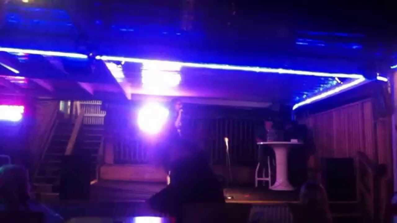 Karaoke At The Tiki Bar Sandpiper Beacon Beach Resort In Panama City