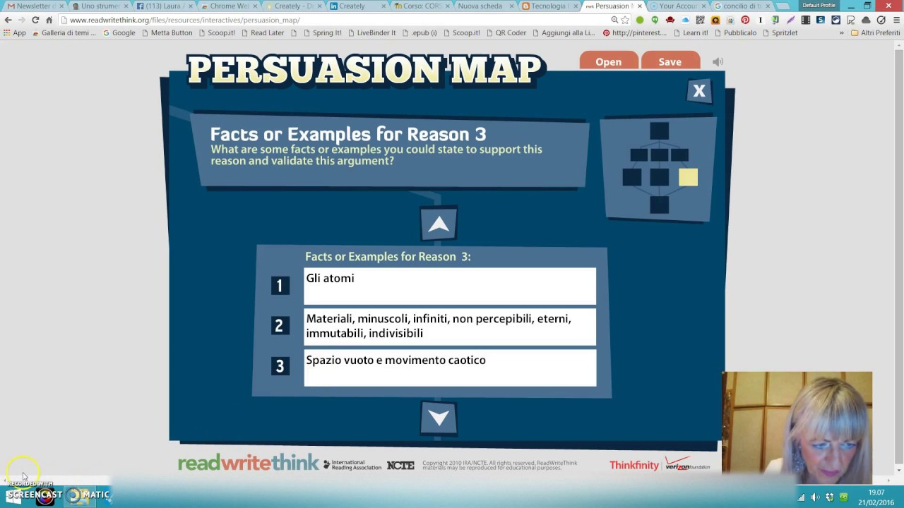 Read write and think persuasion map graphic organizer