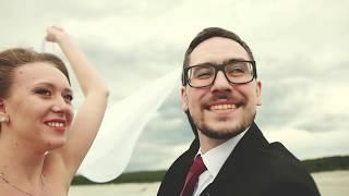 Wedding day | Кирилл и Ксения свадьба для двоих | свадебный клип