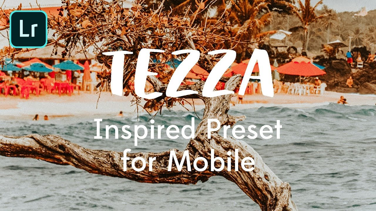 Tezzamb inspired preset for Lightroom mobile Free