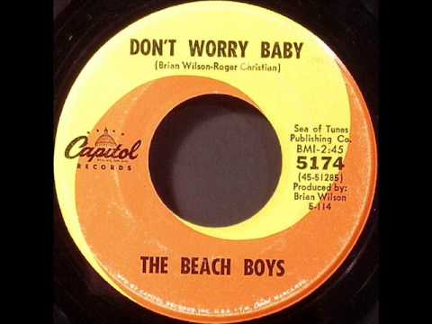 Beach Boys - Don't Worry Baby, Mono 1964 Capitol 45 record.