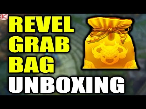 REVEL GRAB BAG UNBOXING AND REVEL ORBS UNBOXING - League of Legends