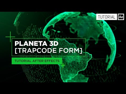 Planeta 3D con partículas [Trapcode Form] - Tutorial After Effects [Español]