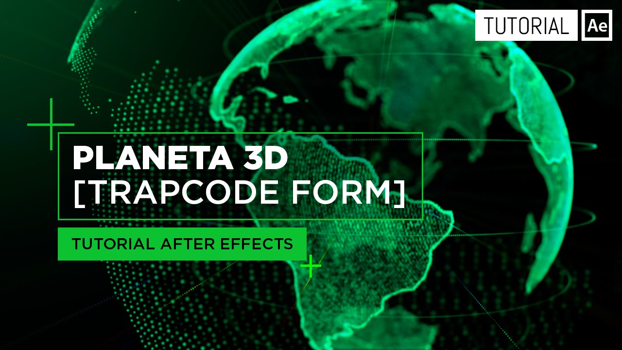 Planeta 3d con part culas trapcode form tutorial after for Habitacion 3d after effects