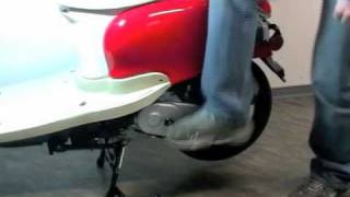 nova-motors.de Hilfe - Motorroller mit dem Kickstarter starten