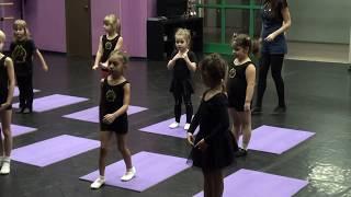 Открытый урок детского танца дети 3 - 6 лет ( Baby dance) www.panteradance.ru № 1