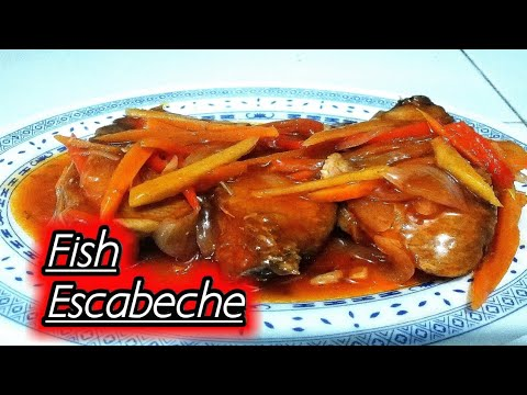 Fish Escabeche | Sweet & Sour Fish
