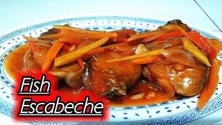 Fish escabeche | sweet & sour fish