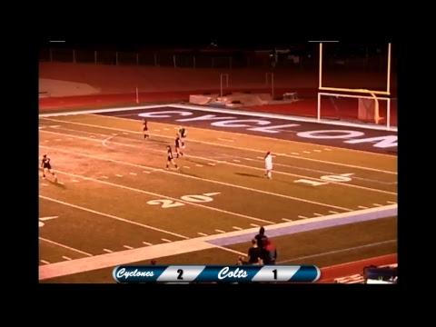 Pueblo West High school vs South Colts girls varsity soccer game