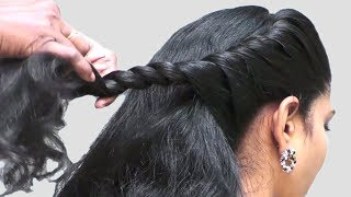 Different Party Hairstyles at Last Minute || Simple Quick hairstyles videos || Hair style girl