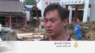 عشرات القتلى والمفقودين بأعاصير شمال الصين