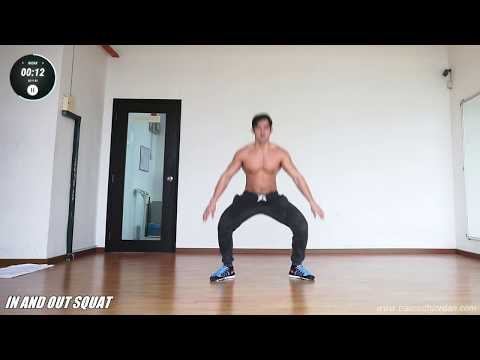 3 minute Intensive Fat-loss routine