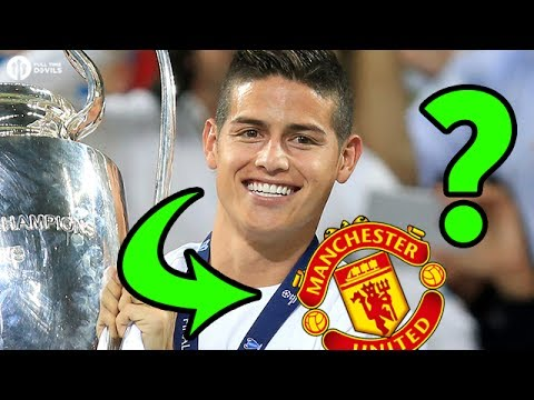 Is James Rodríguez SIGNING for Manchester United?