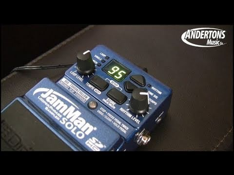 The Digitech JamMan Solo Looper pedal